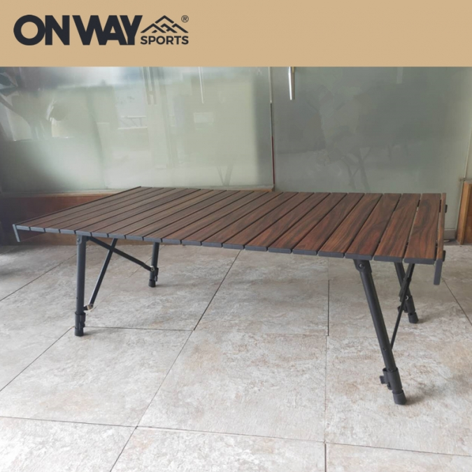 roll up camping table